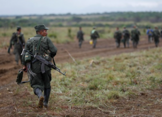 Colombia's FARC are currently demobilizing