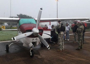 Paraguayan authorities seized a plane used to transport cocaine