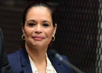 Former Vice President of Guatemala Roxana Baldetti