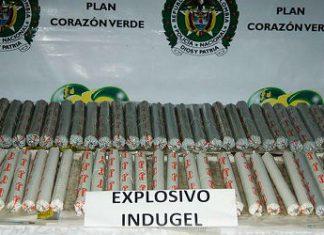 An Indugel explosives seizure