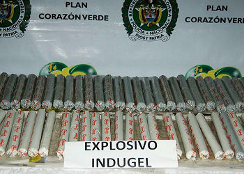 An Indugel explosives seizure