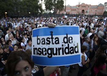 Argentina presented the first official victimization survey in seven years