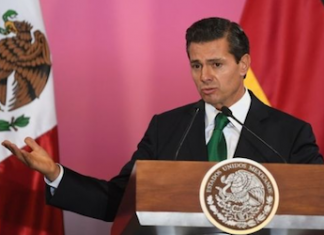 Mexico President Enrique Peña Nieto