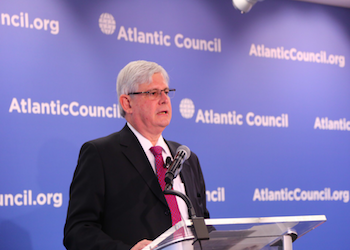 Brazil's prosecutor general Rodrigo Janot at the Atlantic Council on July 19, 2017.