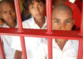 Kids behind bars in Brazil