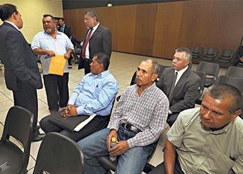 The trial regarding El Salvador's controversial gang truce underway