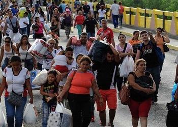 Migrating Venezuelans
