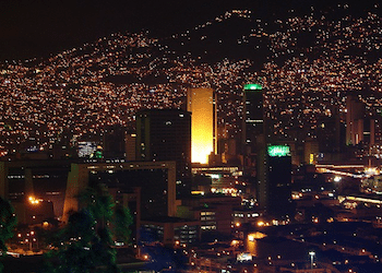 Medellín, Colombia, famed for its crime reduction programs