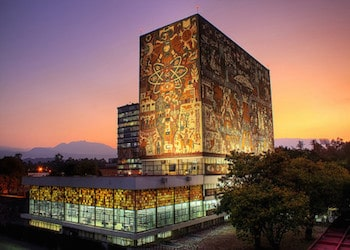 The National Autonomous University of Mexico's University City campus
