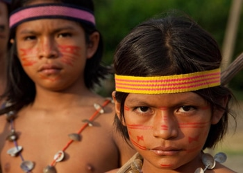 Hundreds of indigenous people, including children, are trafficked each year across Ecuador