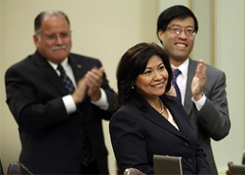 US Representative Norma Torres introduced an amendment to protect anti-corruption funds