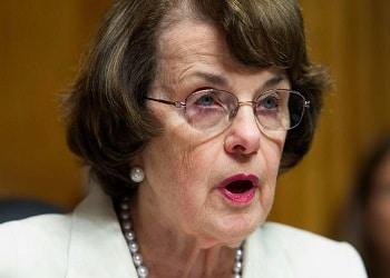 US Senator Dianne Feinstein