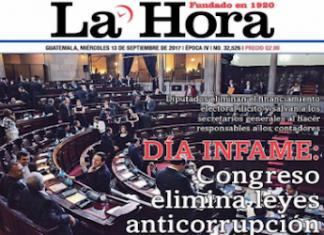 """Day of infamy,"" reads Guatemala newspaper headline"