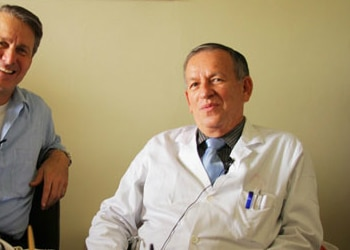 Dr. Francisco José Mora Palma (right)