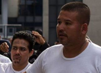 Dany Romero at the time of his 2016 arrest in El Salvador