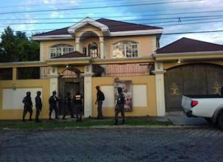 One of the Cachiros-linked properties Honduran authorities seized