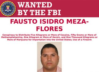 FBI wanted poster for 'Chapo Isidro'