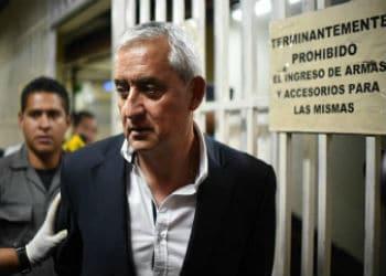 Detained Guatemala President Otto Perez