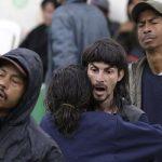 "Homeless residents of Bogotá's ""Bronx"" neighborhood following a vast security operation"