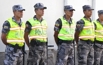 Ecuador's police force is one of the region's most trusted