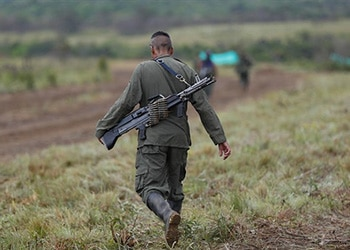 Former FARC fighters are deserting the peace process and returning to crime