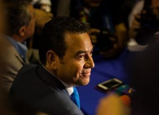 US officials threaten sanctions as Guatemalan President Jimmy Morales retains his immunity