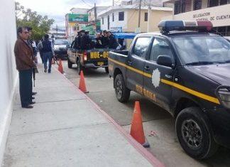 Guatemala police arresting suspects in municipal corruption case