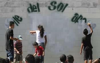 Grafitti in El Salvador