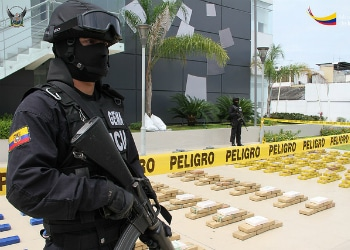 Are Mexican cartels present in Ecuador?