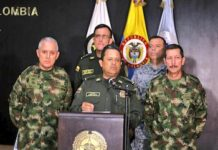 Colombian security forces took down El Indio in Operation Agamemnon II