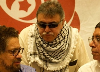 Jesús Santrich was set to take one of the FARC's seats in congress