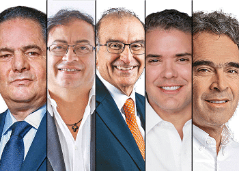 Colombia presidential candidates 2018