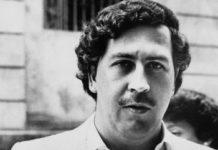 Former Medellín Cartel drug kingpin Pablo Escobar