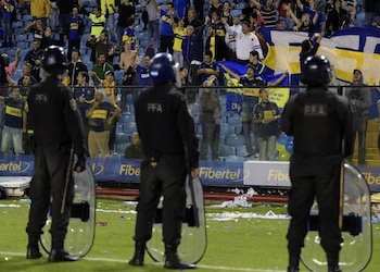 Argentina has struggled with soccer violence for many years