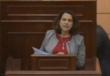 Colombia's Interior Minister Nancy Patricia Gutiérrez