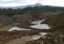 Illegal mining has become a blight in Colombia, especially in  Chocó and Antioquia.