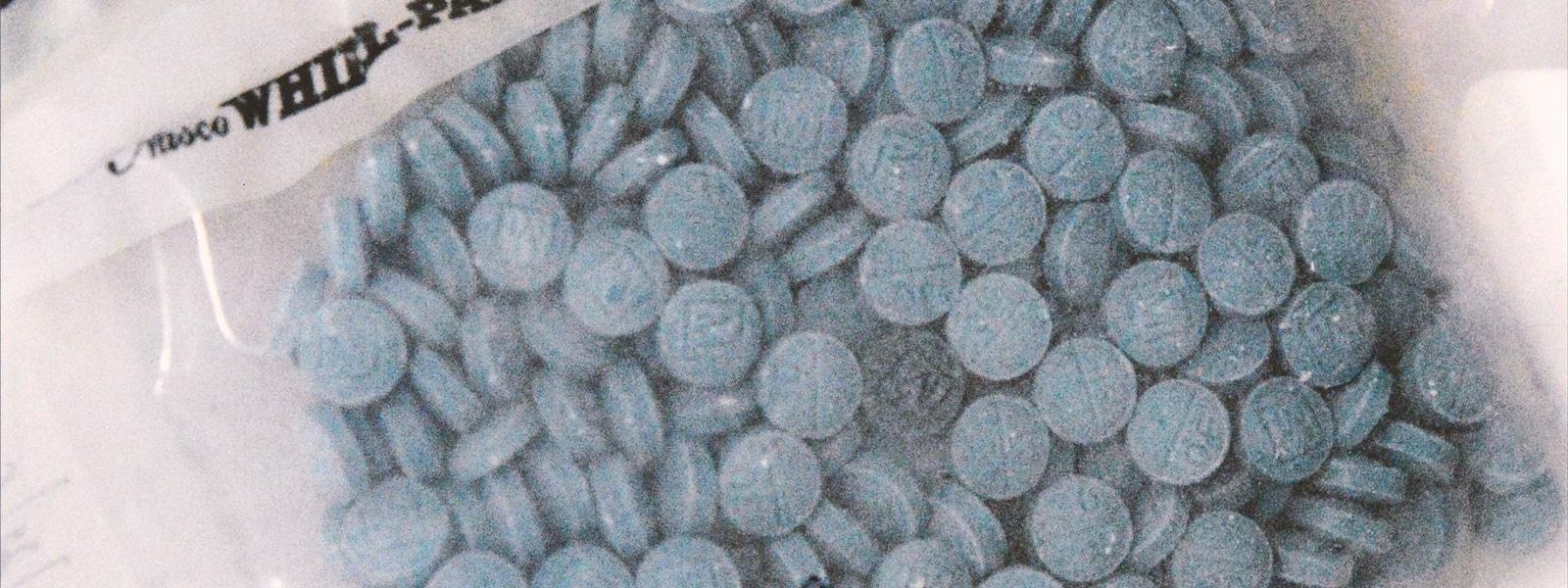 Fentanyl pills bag