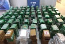 En un cargamento en un puerto de Colón, Panamá, se descubrieron cerca de 800 paquetes de cocaína