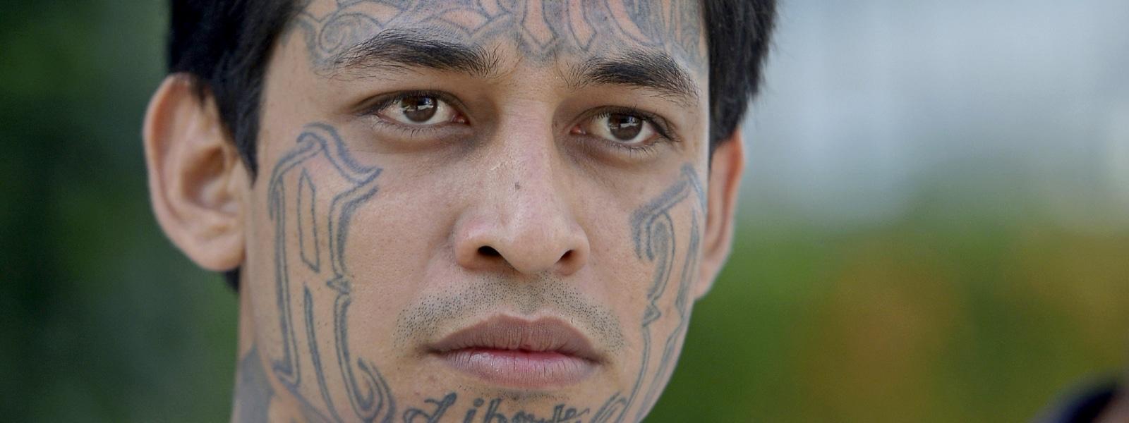 El salvador gang member