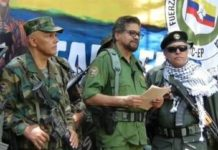 In a major announcement, former FARC leader Iván Márquez, flanked by a range of guerrilla commanders, announced that the FARC-EP was taking up arms once again