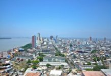 The Guayaquil port in Ecuador is used to transport cocaine to Europe