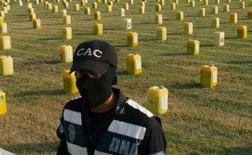 Cocaine sized Guayaquil Ecuador