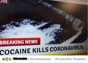 No, Cocaine Does Not Cure Coronavirus