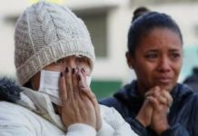 Families await for news of inmates at La Modelo Prison in Colombia