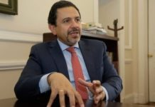 Miguel Ceballos, Colombia's High Commissioner for Peace